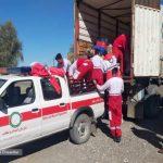 📷اعزام داوطلبان هلالاحمر استان به مناطق سیلزده
