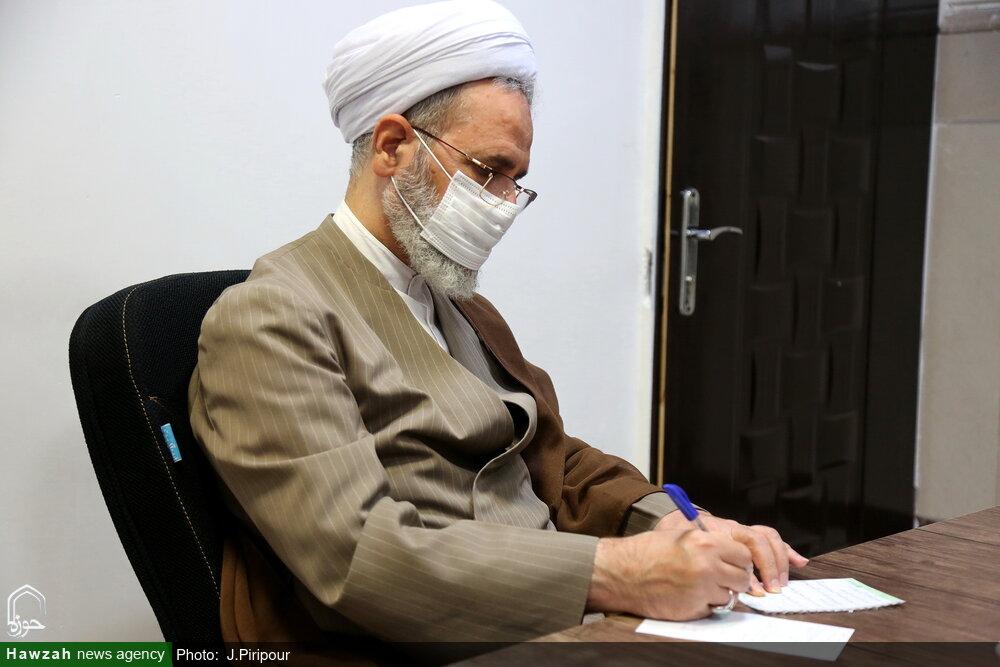 پیام تبریک آیت الله اعرافی در پی مشارکت مردم در انتخابات