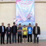 تصاویر اولین دوره مسابقات تنیس کارگران در میبد