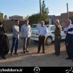بازدید شورای شهر و شهردار منتخب از مسیرهای عزداری