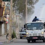 گزارش تصویری از عملیات گندزدایی و میکروبزدایی از معابر شهر میبد