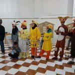 تمرین تئاتر آشپسپایی در فرهنگسرای شهرستان میبد
