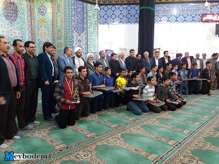 گزارش تصویری از اهدای جوایز هفدهمین دوره مسابقات دو صحرانوردی استان در امامزاده سید صدرالدین قنبر میبد