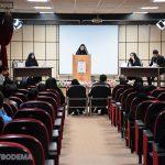گزارش تصویری از برگزاری فینال مسابقه مناظرات دانشجویی دانشگاه میبد