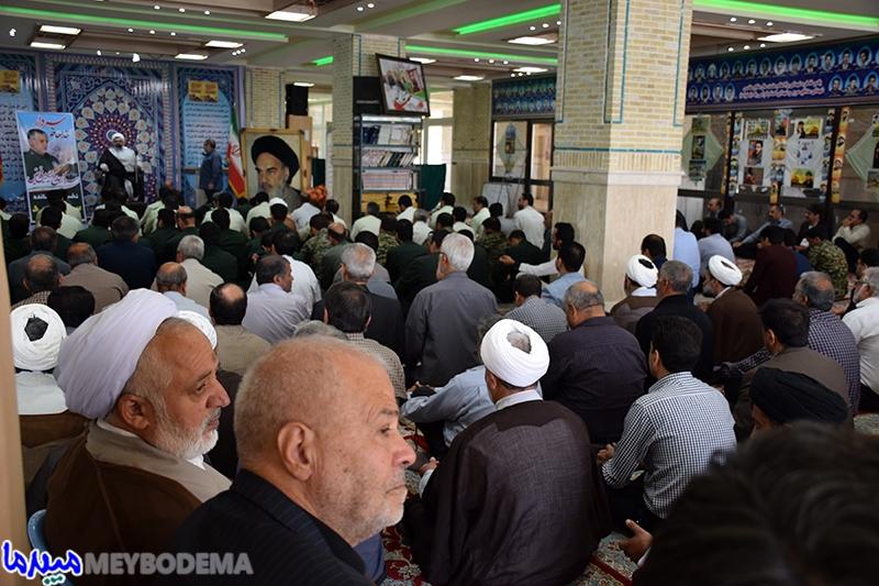 📷عکس/مجلسبزرگداشت سردار شهید فیض در میبد