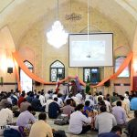 گزارش تصویری از اولین روز اعتکاف در مسجد جامع یخدان میبد