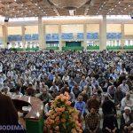 عکس/اولین نمازجمعه ماهرمضان و حضور باشکوه میبدیها