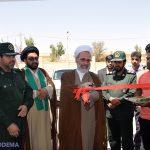 گزارش تصویری از افتتاح ساختمان گردان امام علی(ع) و سالن ورزشی بسیج میبد