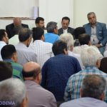 گزارش تصویری از دیدار فرماندار میبد با مردم شهیدیه