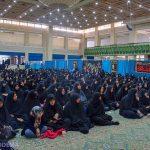 گزارش تصویری از تجمع بزرگ فاطمیون ویژه بانوان در میبد