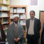 بازدید ریاست ستاد عالی کانون های فرهنگی هنری مساجد استان از کانون آیت الله حائری میبد + تصاویر