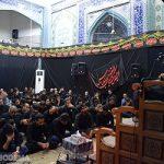 📷 تصاویر/مراسم عزاداری در مسجد صاحبالزمان مهرجرد