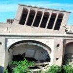 آسیب جدی به بادگیر خانه جلالی ندوشن