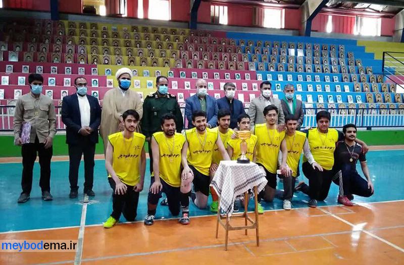 تیم فوتسال طلاب میبدی، قهرمان مسابقات فوتسال طلاب و روحانیون استان یزد شد