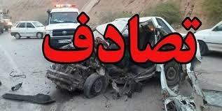 یک حادثه در محور یزد میبد و ۱۶ کشته و زخمی