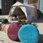 همکاری جبهه فرهنگی شهرستان میبد با سازمان هلال احمر جهت کمک به مردم زلزله زده غرب کشور