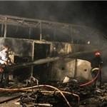 جدال مرگبار اتوبوسها ۴۳ کشته و ۴۴ مجروح بر جای گذاشت +اسامی مجروحان