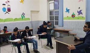 تشکیل کلاس حفظ قرآن ویژه روشندلان در میبد