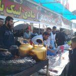 ۲۵ موکب استان یزد در پیاده روی اربعین فعال است