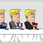 کاریکاتور/ ترامپ های پنج منهای یک!