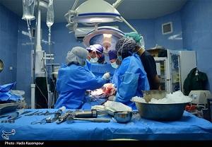 پیوند دست قطع شده مرد جوان در بیمارستان یزد