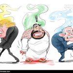 کاریکاتور/ترامپ پشت«بنسلمان» را خالی کرد