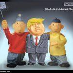 کاریکاتور/ سلفی با احمق درجه یک!!!