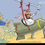 کاریکاتور/ توهم موشکی سلمان!!!