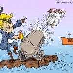 امیدواری ترامپ به عربستان در نبرد نفتی با ایران