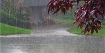 دوشنبه هوای استان یزد بارانی است