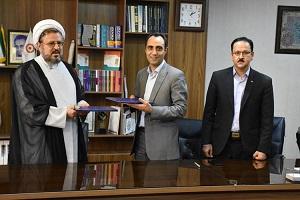 امضاء تفاهمنامه بین بهزیستی و اوقاف یزد