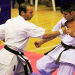۵۵۰۰ کاراته کای یزدی سازماندهی شدند