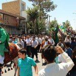 بازسازی نمادین غدیرخم و اطعام ۲۰ هزار نفر در میبد