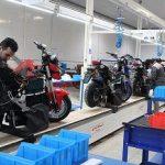 میبد تنها تولید کننده موتورسیکلت برقی در استان یزد