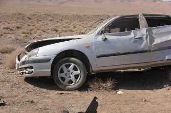 واژگونی خودرو اتباع خارج ۱۲ زخمی برجا گذاشت