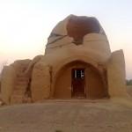تصاویر میبدما از یک بنای تاریخی مهجور در بدرآباد