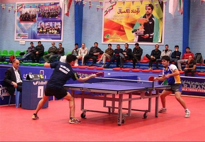 🏓برترینهای مسابقات تنیس روی میز استان یزد