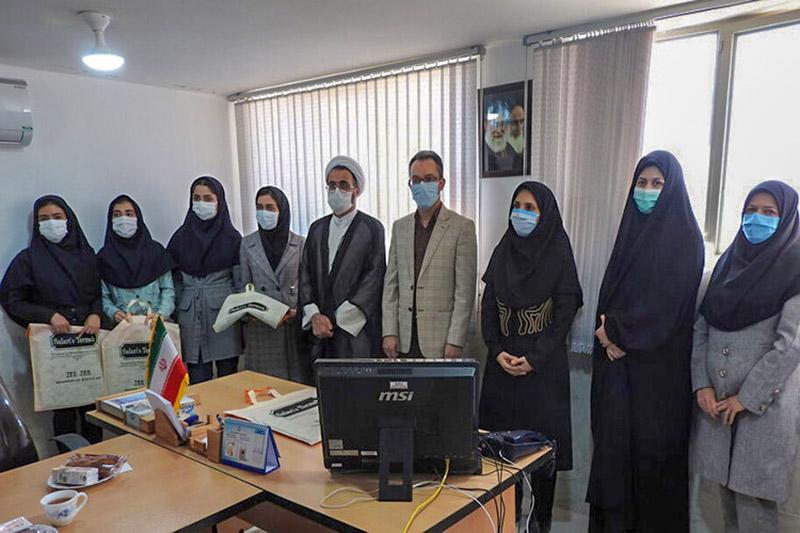تجلیل از دانشجویان برگزیده میبدی جشنواره «قرآن و عترت» وزارت بهداشت