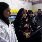 تجلیل جبهه فرهنگی میبد از بانوی ورزشکار قائمشهری به علت پاسداشت حجاب در مسابقات  آسیایی+ تصاویر