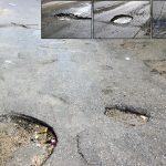 لزوم رفع خرابیهای آسفالت در کوچه و خیابانهای شهر