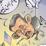 موش تندر سرکرده تروریستهای ساکن آمریکا به دام افتاد!