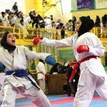 رقابت ۹۰۰ بانوی کاراته کار آسیایی در یزد آغاز شد