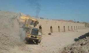 رفع تصرف از ۳۷ هزار متر مربع از اراضی ملی در میبد