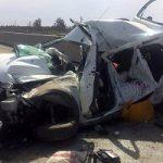 ۱۵۲نفر در استان یزد بر اثر حوادث ترافیکی جان باختند