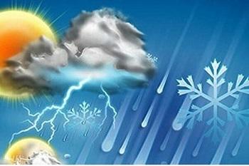 کاهش دما در مناطقی از یزد تا ۷- درجه