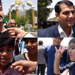 فیلم/ میبدی ها در روز حمایت از آرمان قدس شریف