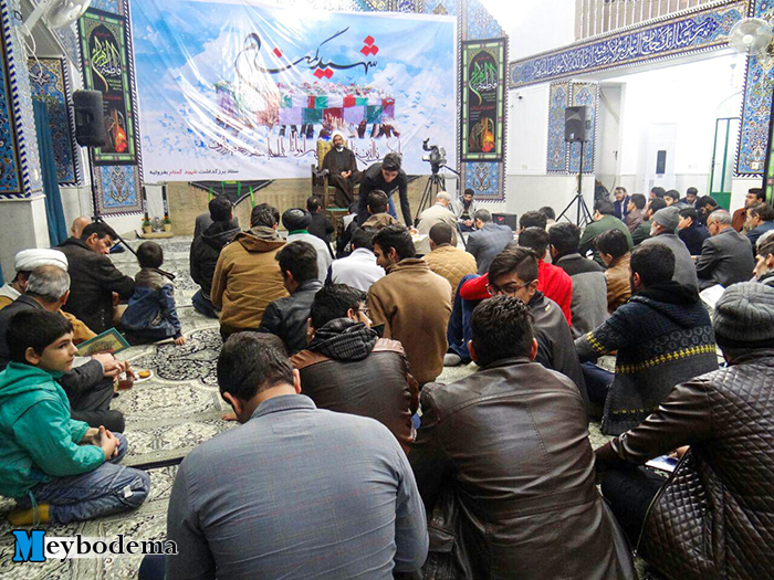گزارش تصویری از برگزاری مراسم هفتم شهید گمنام در دانشکده علوم قرآنی میبد