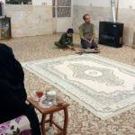 ۱۲۰ روضهی خانگی به مناسبت شهادت حضرت فاطمه(س) در میبد برگزار شد+تصاویر