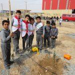 گزارش تصویری از مراسم روز درختکاری در شهرکصنعتی