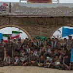 کلیپ/ دانش آموزان میبدی در اردوی راهیان نور